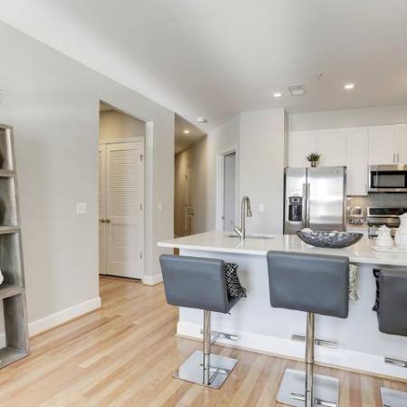 Snack in the Kitchen | Luxury Apartments In Bethesda | Upstairs at Bethesda Row