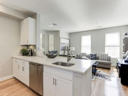 Spacious Kitchen   Apartments For Rent In Bethesda Maryland   Upstairs at Bethesda Row