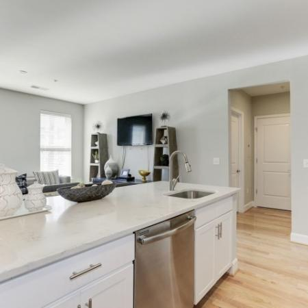 Elegant Kitchen | Luxury Apartments In Bethesda Maryland | Upstairs at Bethesda Row