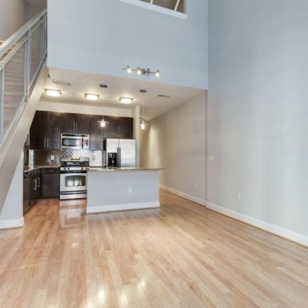 Luxurious Living Room | Luxury Apartments In Bethesda MD | Upstairs at Bethesda Row