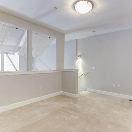 Spacious Living Area | Bethesda Luxury Apartments | Upstairs at Bethesda Row