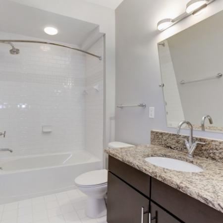 Elegant Bathroom | Luxury Apartments In Bethesda Maryland | Upstairs at Bethesda Row
