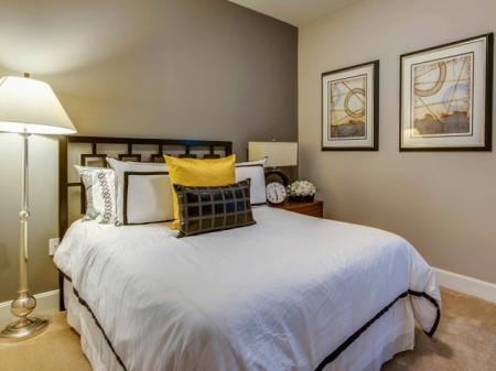 Luxurious Bedroom   Luxury Apartments In Bethesda Maryland   Upstairs at Bethesda Row
