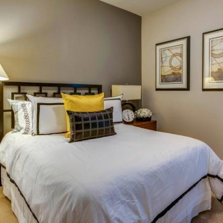 Luxurious Bedroom | Luxury Apartments In Bethesda Maryland | Upstairs at Bethesda Row
