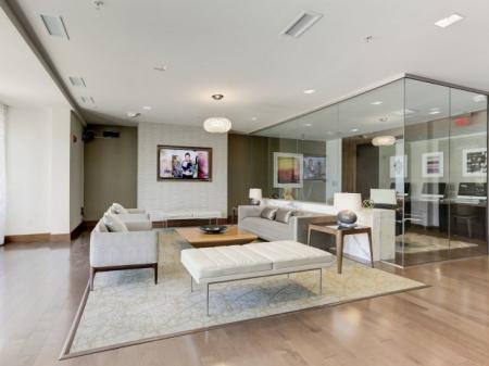 Spacious Resident Club House   Luxury Apartments In Bethesda Maryland   Upstairs at Bethesda Row