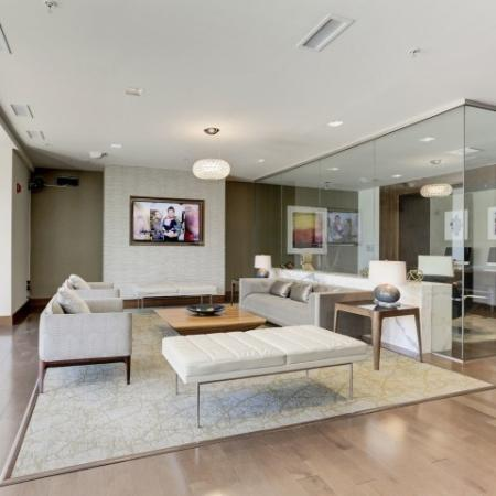 Spacious Resident Club House | Luxury Apartments In Bethesda Maryland | Upstairs at Bethesda Row