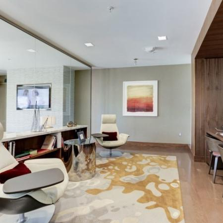 Elegant Community Club House | Luxury Apartments In Bethesda MD | Upstairs at Bethesda Row