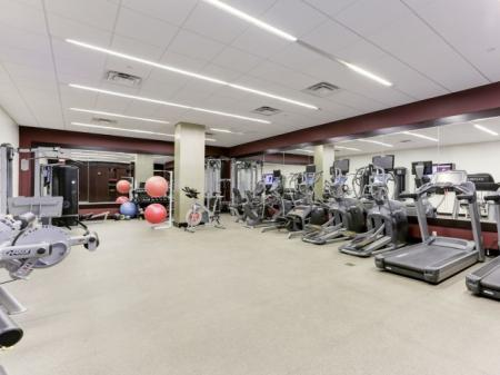 State-of-the-Art Fitness Center   Luxury Apartments In Bethesda MD   Upstairs at Bethesda Row