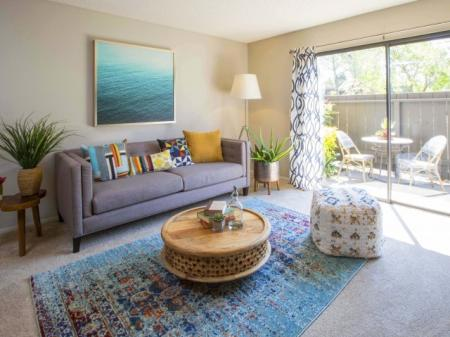 Luxurious Living Room | Santa Maria Apartments For Rent |