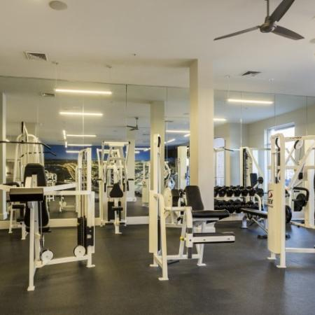 State-of-the-Art Fitness Center | New Brunswick Luxury Apartments | Plaza Square Apartment Homes