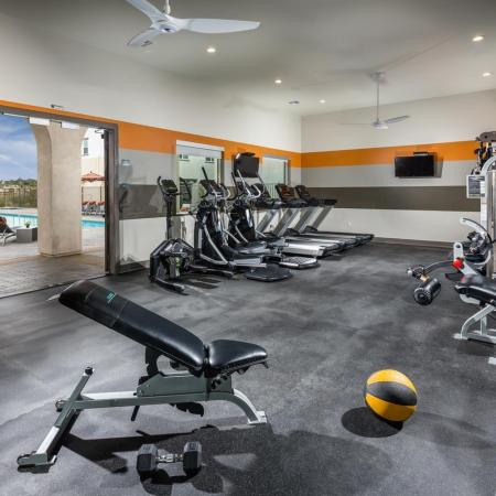 Cutting Edge Fitness Center | Temecula California Apartments | Solaire