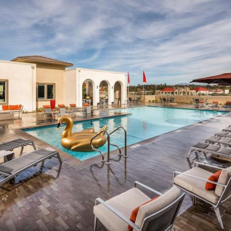 Heated Pool | Apartment Homes In Temecula | Solaire