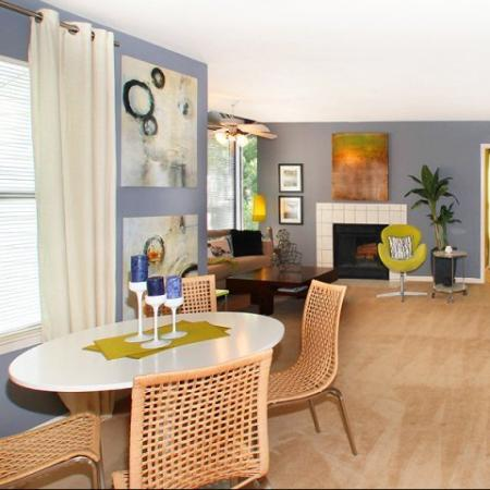 Spacious Dining Room | Kennesaw Apartments | Greenhouse Apartments
