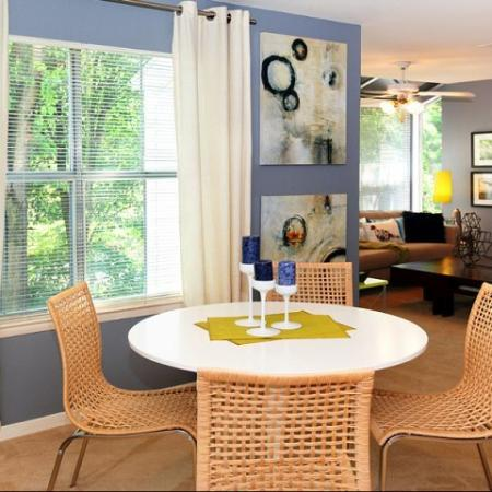 Elegant Dining Room | Apartments Near Kennesaw State | Greenhouse Apartments