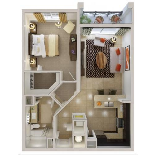 Floor Plan 6 | Bridges at Kendall Place