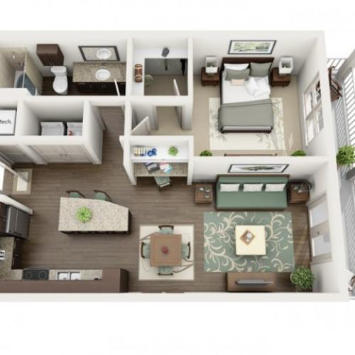 Floor Plan 24 | Azure (FL)