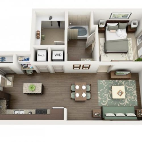 Floor Plan 2 | Azure (FL)