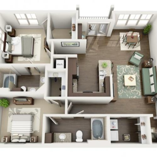 Floor Plan 14 | Azure (FL)