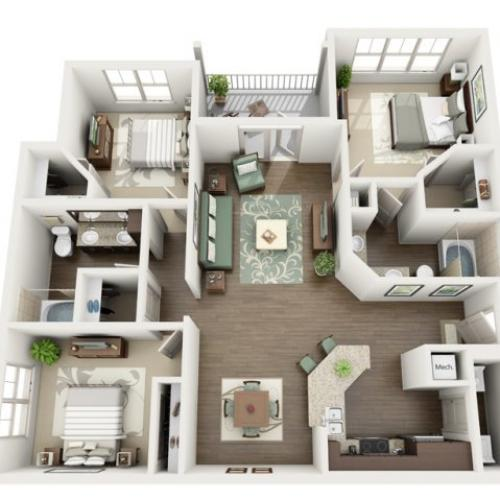 Floor Plan 16 | Azure (FL)