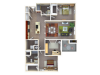 Floor Plan 5 | Autumn Breeze