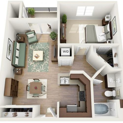 Floor Plan 8 | Luxury Apartments Santa Monica | AO Santa Monica