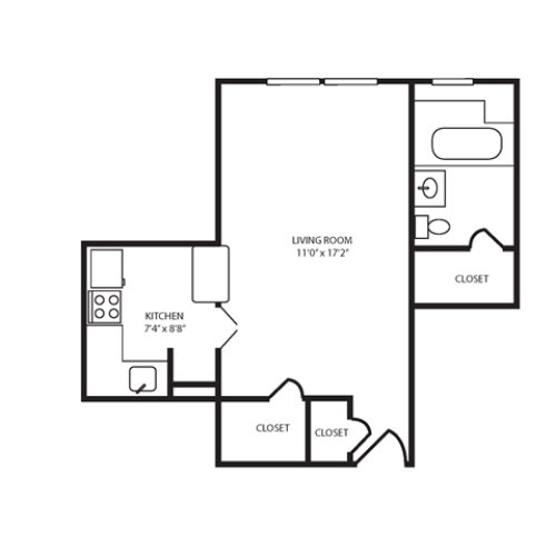 Floor Plan 3 | The Seneca