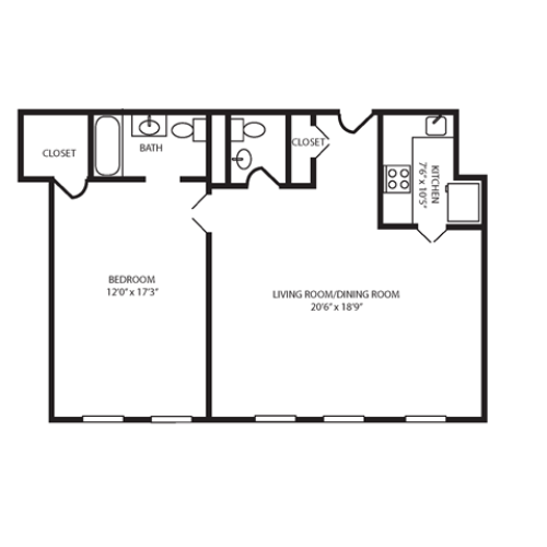 Floor Plan 17 | The Seneca
