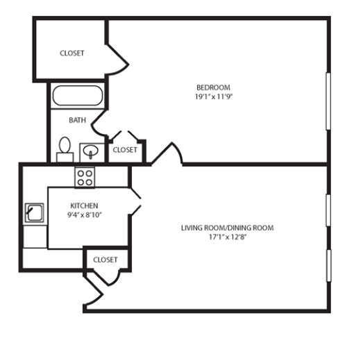 Floor Plan 5 | The Seneca