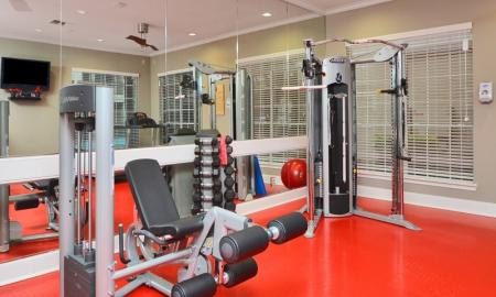 Fitness Center at Retreat at Westchase 2