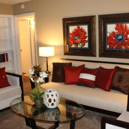 Living Room at Briarwest5