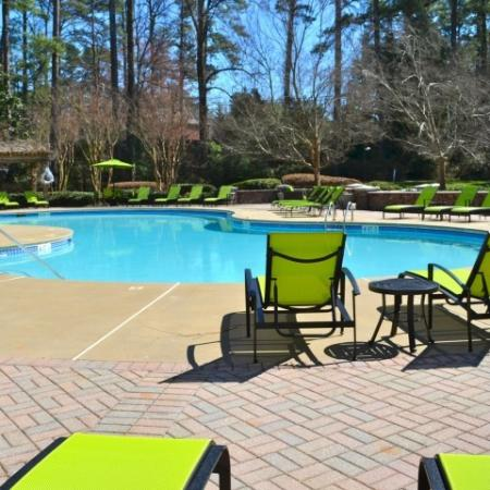 Swimming Pool at Dunwoody Place Apartments 2