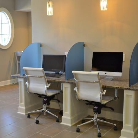 Cyber Cafe at Dunwoody Place Apartments 3