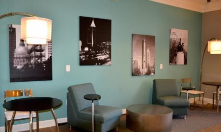 Cyber Cafe at Dunwoody Place Apartments 2