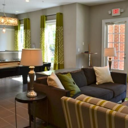 Pool Table at Dunwoody Place Apartments