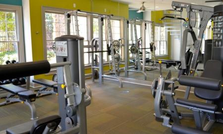 Fitness Center at Dunwoody Place Apartments 3