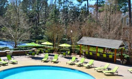 Swimming Pool at Dunwoody Place Apartments
