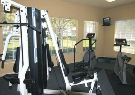 Fitness Center at Chartwell Court Apartments