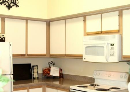 Kitchen at Chartwell Court Apartments