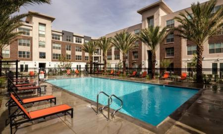 Sparkling Pool | Apartment In Pomona | Monterey Station Apartments