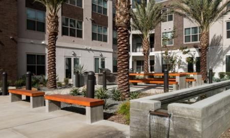 Community BBQ Grills | Pomona Apartments | Monterey Station Apartments