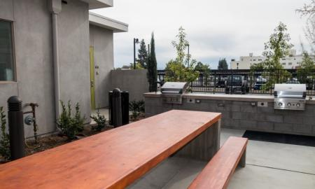 Resident BBQ | Pomona Apartment | Monterey Station Apartments
