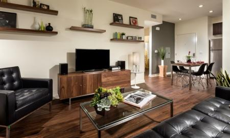 Elegant Living Area | Pomona Apartments | Monterey Station Apartments