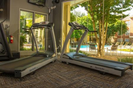 Fitness Center at The Lodge at River Park Apartments 2