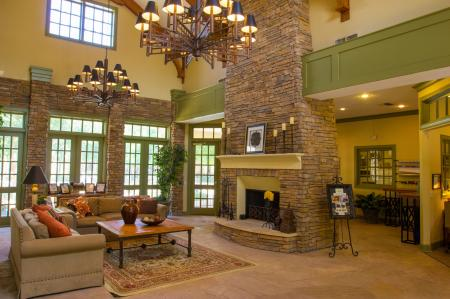 The Lodge at River Park Apartments Clubhouse 2