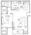 Floor Plan 3 | Vail Quarters