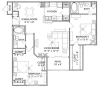 Floor Plan 6 | Vail Quarters 4