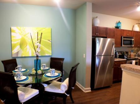 Gorgeous lighting at our floor plans at Town Center at Lakeside Village Apartments