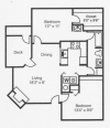 Floor Plan 2 | Santa Fe Ridge