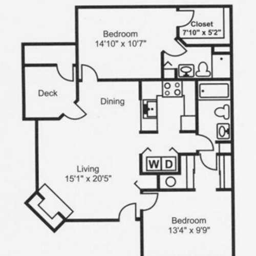 Floor Plan 3 | Santa Fe Ridge