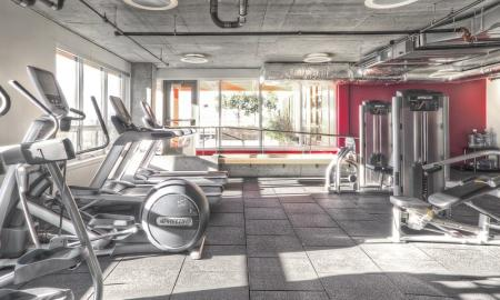 Fitness Center at Verve 1